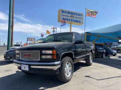 1998 GMC Sierra 1500 for sale at Borrego Motors in El Paso TX