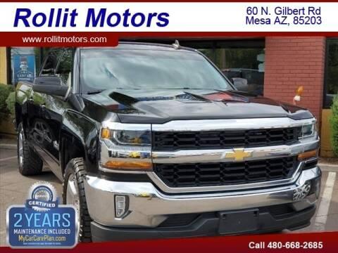 2018 Chevrolet Silverado 1500 for sale at Rollit Motors in Mesa AZ