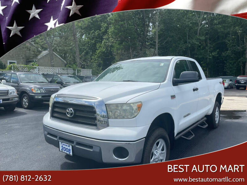 2008 Toyota Tundra for sale at Best Auto Mart in Weymouth MA
