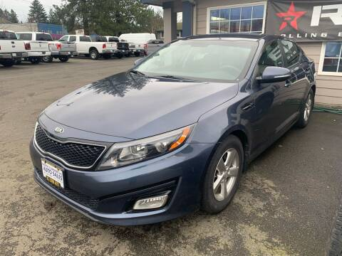 2015 Kia Optima for sale at South Commercial Auto Sales in Salem OR