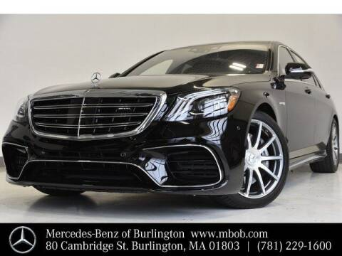2019 Mercedes-Benz S-Class for sale at Mercedes Benz of Burlington in Burlington MA
