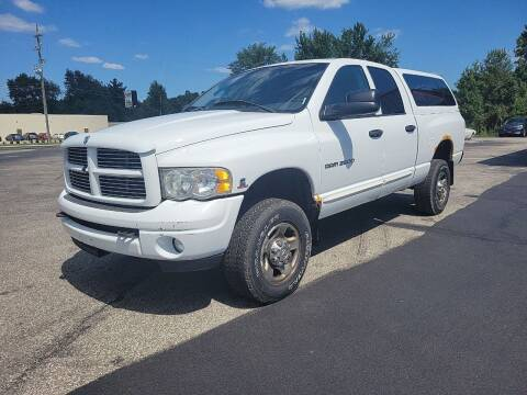 2005 Dodge Ram Pickup 2500 for sale at Cruisin' Auto Sales in Madison IN