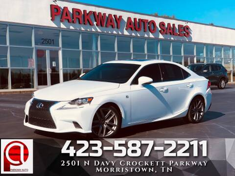 2015 Lexus IS 250 for sale at Parkway Auto Sales, Inc. in Morristown TN