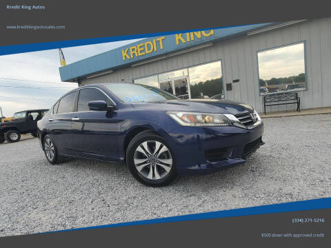 2014 Honda Accord for sale at Kredit King Autos in Montgomery AL