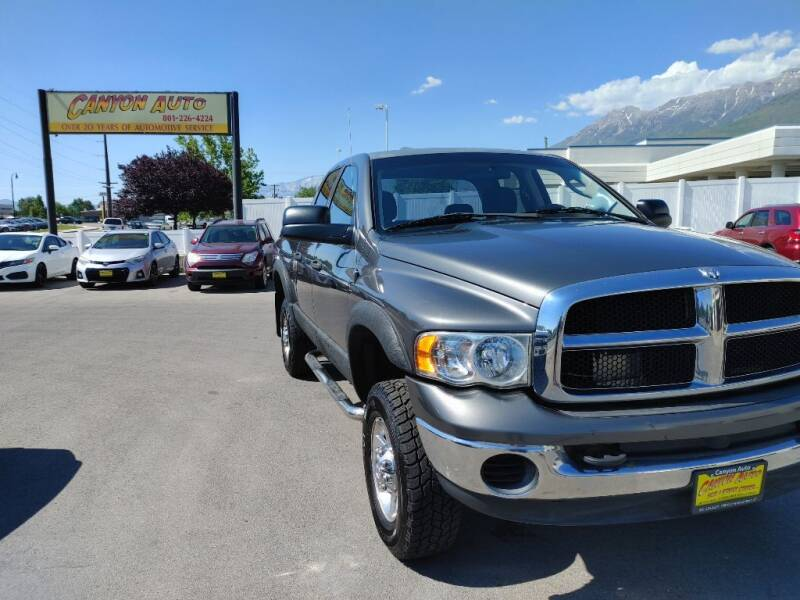 2004 Dodge Ram Pickup 2500 for sale at Canyon Auto Sales in Orem UT