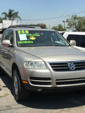 2005 Volkswagen Touareg for sale at Affordable Auto Inc. in Pico Rivera CA