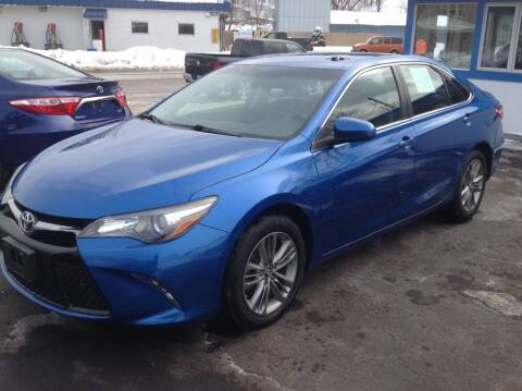 2017 Toyota Camry for sale at Sindic Motors in Waukesha WI