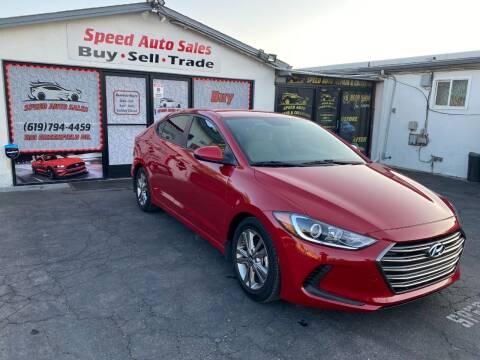 2017 Hyundai Elantra for sale at Speed Auto Sales in El Cajon CA