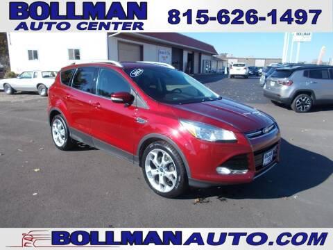 2014 Ford Escape for sale at Bollman Auto Center in Rock Falls IL