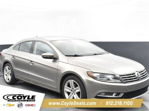 2013 Volkswagen CC for sale at COYLE GM - COYLE NISSAN - New Inventory in Clarksville IN