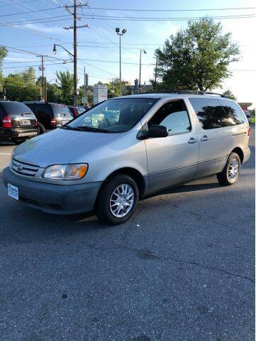 2002 Toyota Sienna for sale at JTR Automotive Group in Cottage City MD