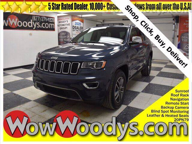 2020 Jeep Grand Cherokee for sale at WOODY'S AUTOMOTIVE GROUP in Chillicothe MO