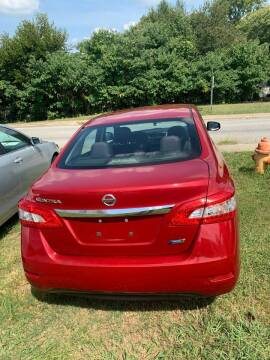 2014 Nissan Sentra for sale at Rodeo Auto Sales Inc in Winston Salem NC