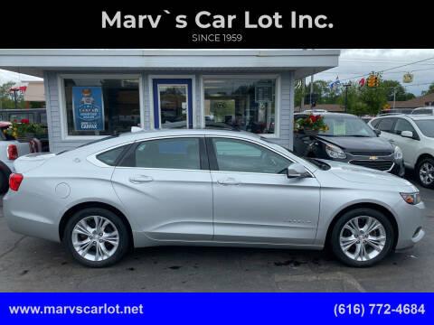 2014 Chevrolet Impala for sale at Marv`s Car Lot Inc. in Zeeland MI