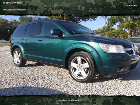 2009 Dodge Journey for sale at AC AUTOMOTIVE LLC in Hopkinsville KY