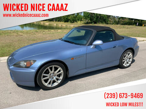 2005 Honda S2000 for sale at WICKED NICE CAAAZ in Cape Coral FL