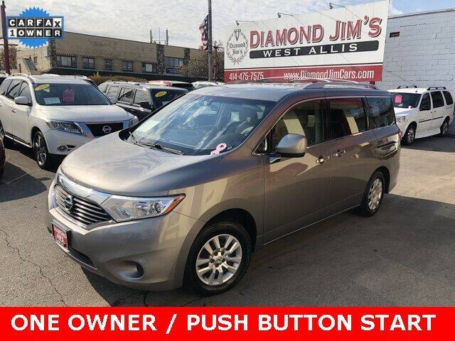 2012 Nissan Quest for sale at Diamond Jim's West Allis in West Allis WI
