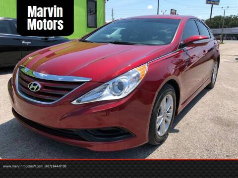 2014 Hyundai Sonata for sale at Marvin Motors in Kissimmee FL