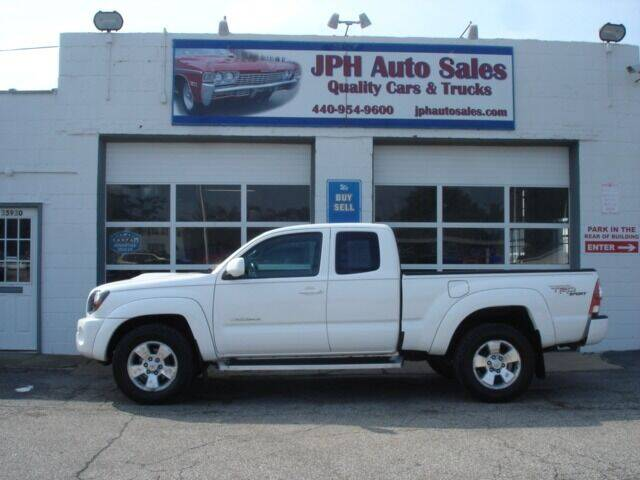 2010 Toyota Tacoma for sale at JPH Auto Sales in Eastlake OH