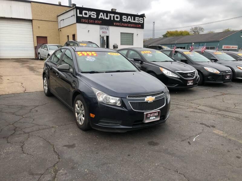 2014 Chevrolet Cruze for sale at Lo's Auto Sales in Cincinnati OH