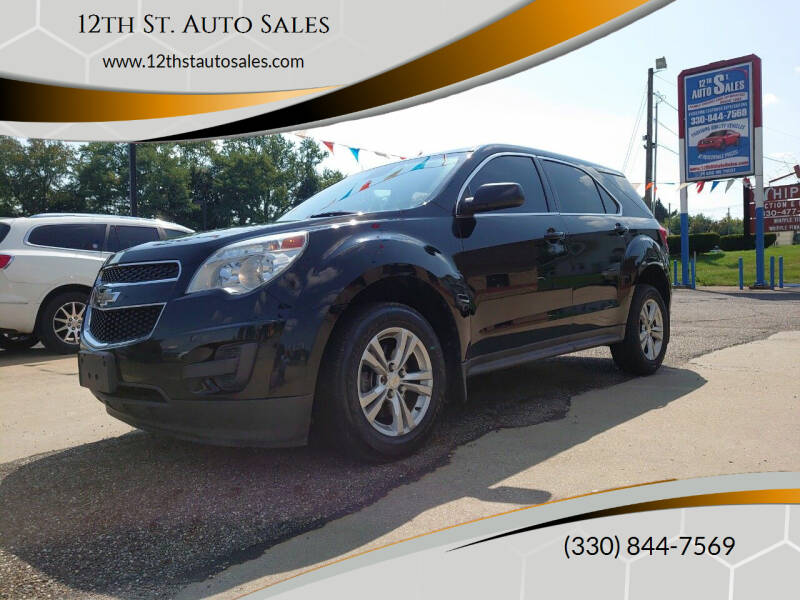 2013 Chevrolet Equinox for sale at 12th St. Auto Sales in Canton OH