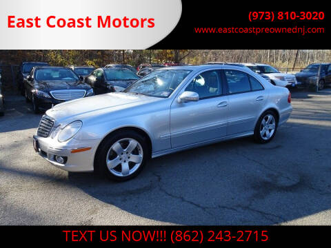 2007 Mercedes-Benz E-Class for sale at East Coast Motors in Lake Hopatcong NJ