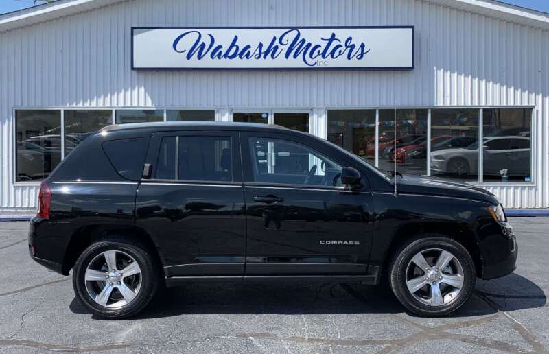 2017 Jeep Compass for sale at Wabash Motors in Terre Haute IN