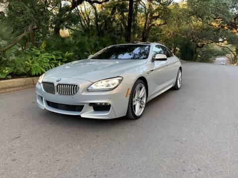 2013 BMW 6 Series for sale at Carz Of Texas Auto Sales in San Antonio TX