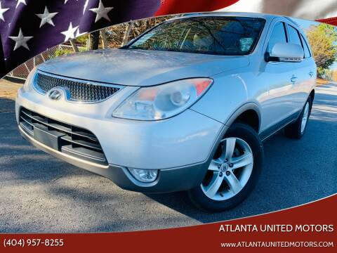 2011 Hyundai Veracruz for sale at Atlanta United Motors in Buford GA
