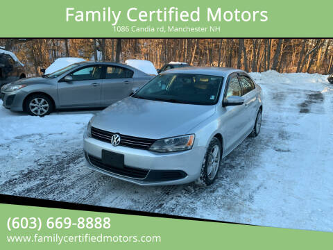 2013 Volkswagen Jetta for sale at Family Certified Motors in Manchester NH