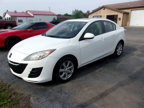 2010 Mazda MAZDA3 for sale at DAVE KNAPP USED CARS in Lapeer MI