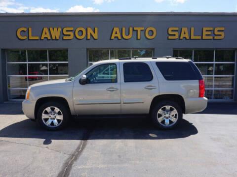 2008 GMC Yukon for sale at Clawson Auto Sales in Clawson MI