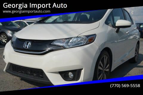 2016 Honda Fit for sale at Georgia Import Auto in Alpharetta GA