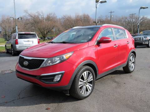 2015 Kia Sportage for sale at Low Cost Cars North in Whitehall OH