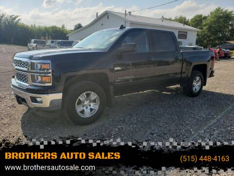 2015 Chevrolet Silverado 1500 for sale at BROTHERS AUTO SALES in Eagle Grove IA