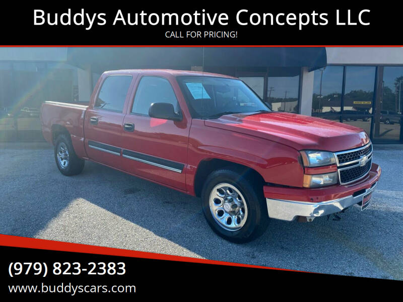 2007 Chevrolet Silverado 1500 Classic for sale at Buddys Automotive Concepts LLC in Bryan TX