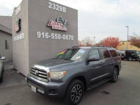 2008 Toyota Sequoia for sale at LIONS AUTO SALES in Sacramento CA