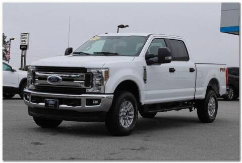 2019 Ford F-250 Super Duty for sale at WHITE MOTORS INC in Roanoke Rapids NC