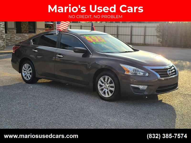 2013 Nissan Altima for sale at Mario's Used Cars - Pasadena Location in Pasadena TX