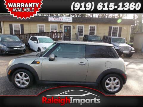 2008 MINI Cooper for sale at Raleigh Imports in Raleigh NC