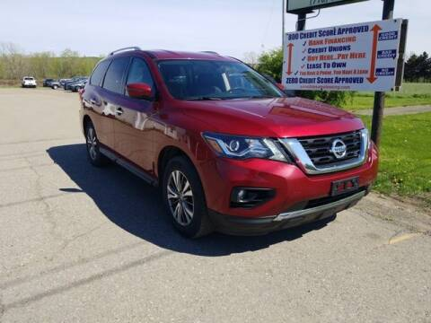 2018 Nissan Pathfinder for sale at Sensible Sales & Leasing in Fredonia NY