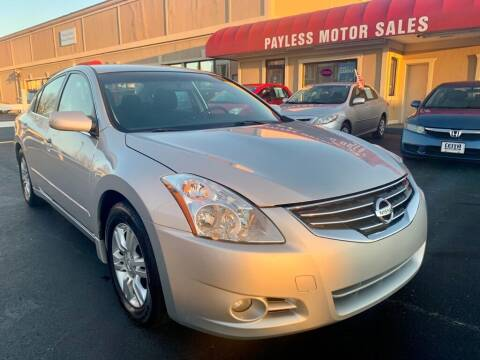2012 Nissan Altima for sale at Payless Motor Sales LLC in Burlington NC