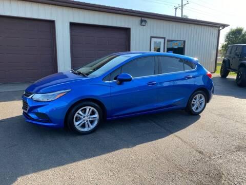 2017 Chevrolet Cruze for sale at Ryans Auto Sales in Muncie IN
