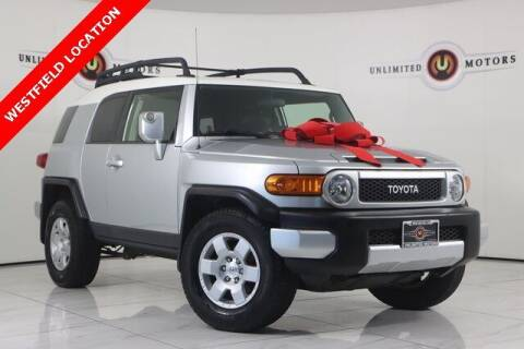 2007 Toyota FJ Cruiser for sale at INDY'S UNLIMITED MOTORS - UNLIMITED MOTORS in Westfield IN