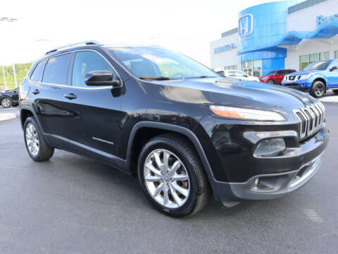 2014 Jeep Cherokee for sale at RUSTY WALLACE HONDA in Knoxville TN