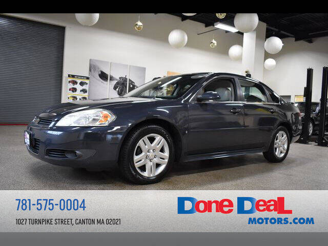 2009 Chevrolet Impala for sale at DONE DEAL MOTORS in Canton MA