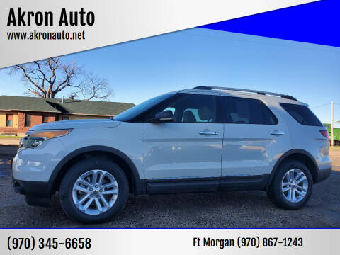 2011 Ford Explorer for sale at Akron Auto - Fort Morgan in Fort Morgan CO