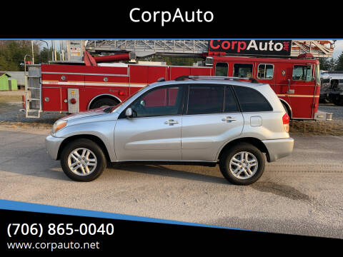 2002 Toyota RAV4 for sale at CorpAuto in Cleveland GA