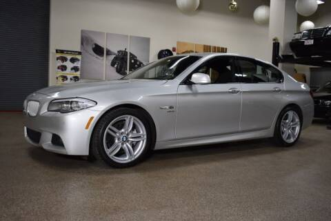 2012 BMW 5 Series for sale at DONE DEAL MOTORS in Canton MA