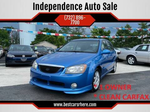 2005 Kia Spectra for sale at Independence Auto Sale in Bordentown NJ